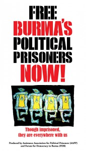 Free all Burmese political prisoners NOW!