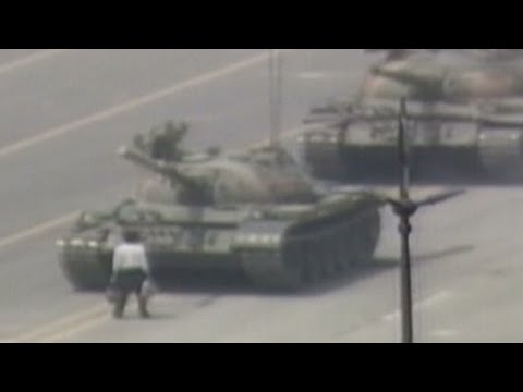 """Remembering the """"Tank Man"""", 26 years ago"""