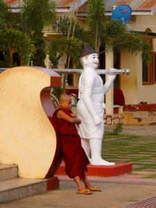Novize bei Pyin Oo Lwin